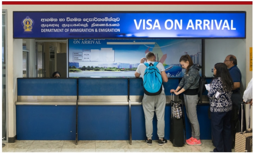 Coronavirus : Sri Lanka suspends on Arrival Visa for Foreigners