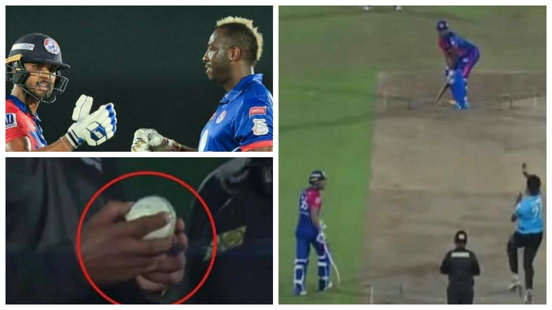WATCH: Andre Russell breaks the ball by his brutal hitting in LPL - NewsWire