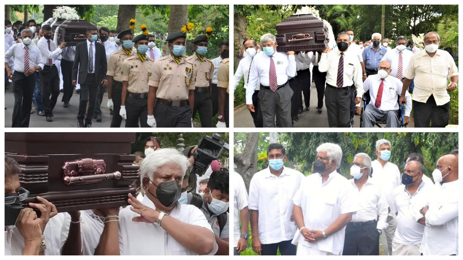 Funeral of SL's first test captain Bandula Warnapura held in Colombo today